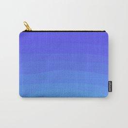 Cobalt Light Blue gradient Carry-All Pouch