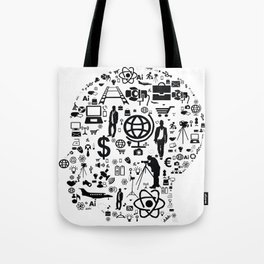 creative mind functions Tote Bag