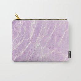 Soft Purple Pink Ocean Dream #1 #water #decor #art #society6 Carry-All Pouch
