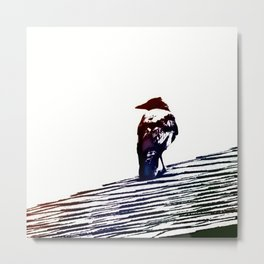 From His Perch Metal Print