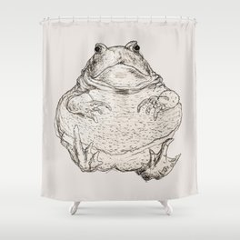 Draw Me Like One Of Your French Frogs Shower Curtain