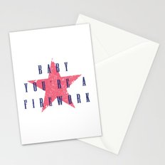 Baby You're a Firework Stationery Cards