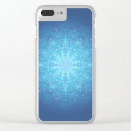 Enigma. Sacred geometry Clear iPhone Case