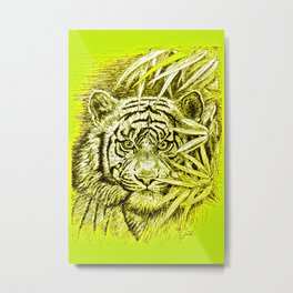 tiger - king of the jungle Metal Print