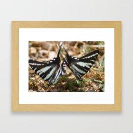 2 by 2 Framed Art Print
