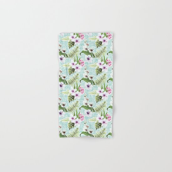 Tropical Summer #12 Hand & Bath Towel