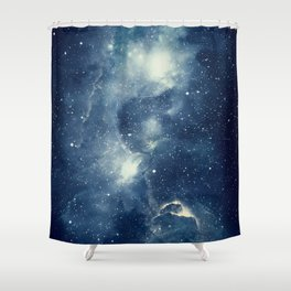 Galaxy Next Door Shower Curtain