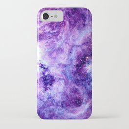 Purple Lavender Gold Tarantula Nebula iPhone Case