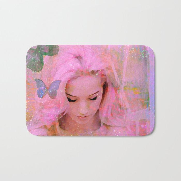 Butterflies in my heart for you Bath Mat