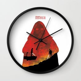 Revenge of the Sith Wall Clock
