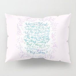 Trust and Obey - Hymn Pillow Sham