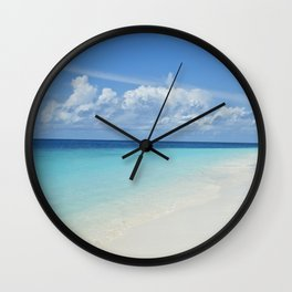 The Maldives' Blue Wall Clock