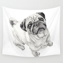 Seymour the Pug Wall Tapestry