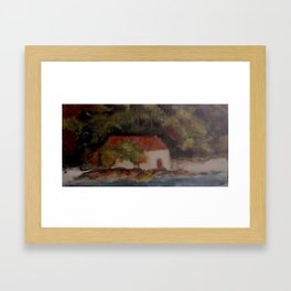 Cinnamon Bay 3 Framed Art Print