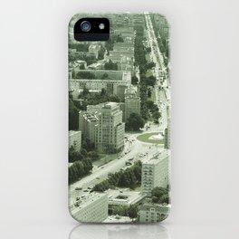 Vintage East Berlin iPhone Case