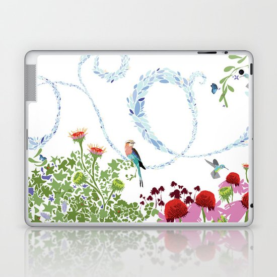 Meadow scene (full) Laptop & iPad Skin
