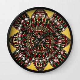 Magical Flower Wall Clock