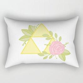 Garden of Power, Wisdom and Courage Rectangular Pillow