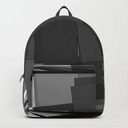 Rotated Rectangles Backpack