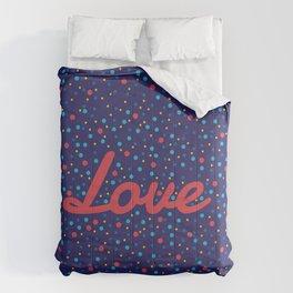 Love Particles Comforters