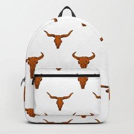 Longhorns Texas University football varsity college sports fan Backpack