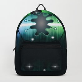 Neuromorphic Chip - Futuristic Technology Backpack