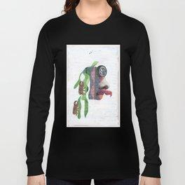 Trepa por mi pelo Long Sleeve T-shirt