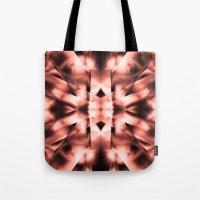 metal Tote Bags featuring Metal by Assiyam