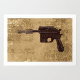 Han Pistol - Blaster Art Print