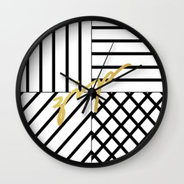 Zip Wall Clock
