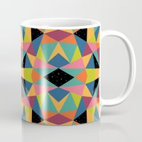 kaleidoscope Mugs featuring Kaleidoscope by Andy Westface