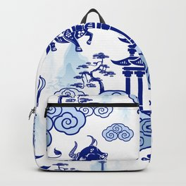Year of the Ox Pagoda  Backpack