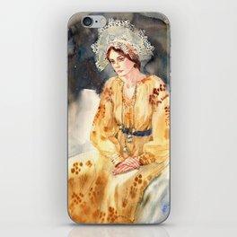 Russian beauty iPhone Skin
