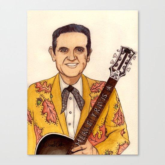Merle Travis II Canvas Print