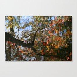 Autumn Reflections.   Canvas Print