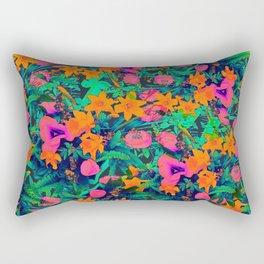 CRAZY FLOWERS Rectangular Pillow