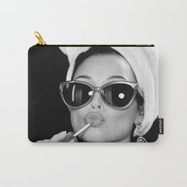 Audrey Hepburn Style Carry-All Pouch