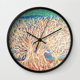 Grappling Groves Wall Clock