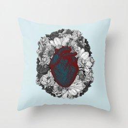Fleeting heart Throw Pillow