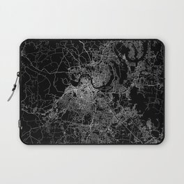 nashville map Laptop Sleeve