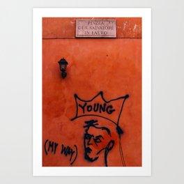 Young Rome Art Print