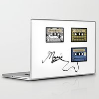tape Laptop & iPad Skins featuring tape by Jeffrey Bourgeois