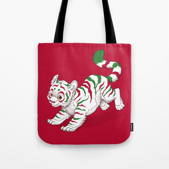 Candy Tiger Tote Bag