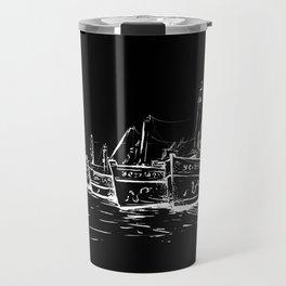 fishing boats Travel Mug