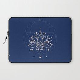 Lotus Dark Laptop Sleeve