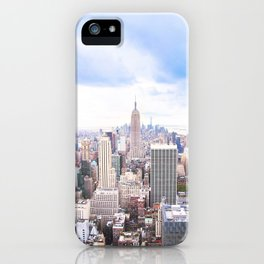 296. Empire View, New York iPhone Case