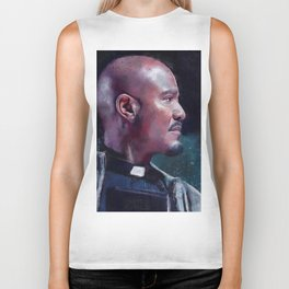 Father Gabriel With His Bible - The Walking Dead Biker Tank