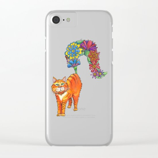 Classy Cat Chloe Clear iPhone Case