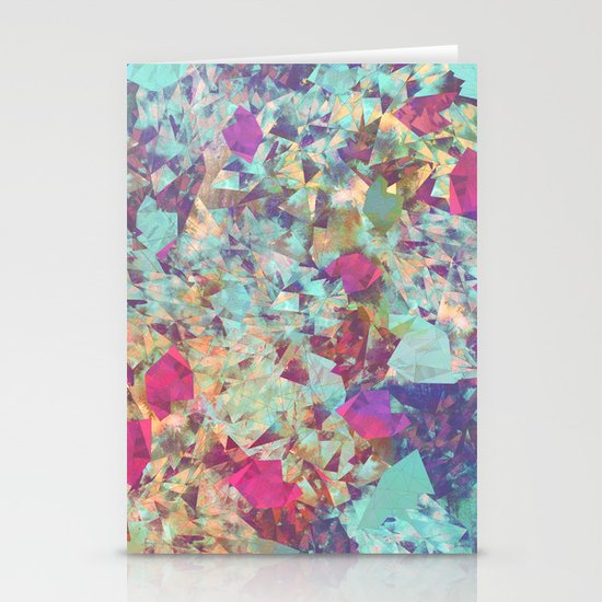Spaced Geometric Stationery Cards