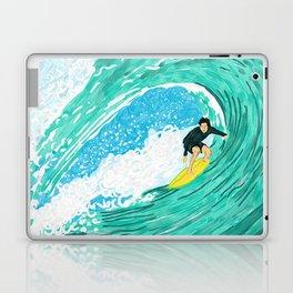 Big wave surfer Laptop & iPad Skin